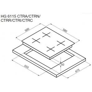 Korting HG 6115 CTRA