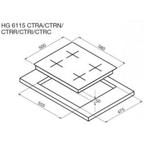 Korting HG 6115 CTRN