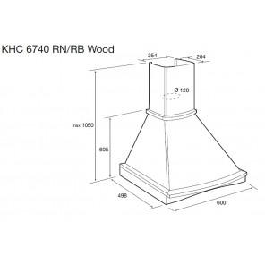Korting KHC 6740 RN Wood